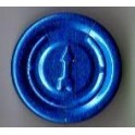 20mm Full Tear Off Vial Seals, Sapphire Blue, Pk 100