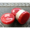 West 13mm Smooth Vial Caps, Red, Bag 1000
